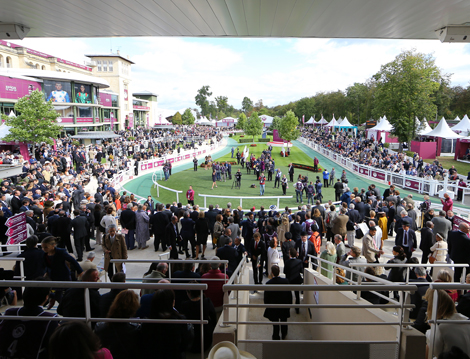 The Prix de larc de triomphe official hospitality